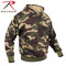 Woodland Camo Pullover Hooded Sweatshirt - Rothco Brand