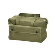 Canvas Brass Zipper Mechanics Tool Bag - View