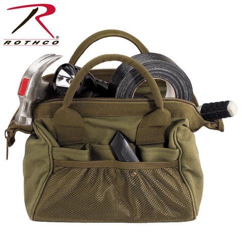 Platoon Tool Kit Bags - Olive Drab - Rothco View