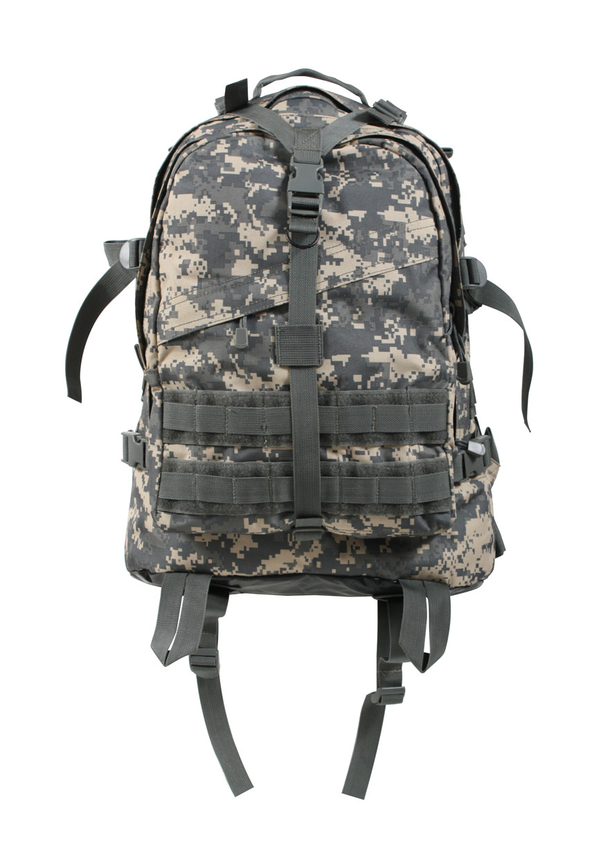6072e11a01 ACU Digital Camo Large Transport Pack - Front View. Hover over image to zoom