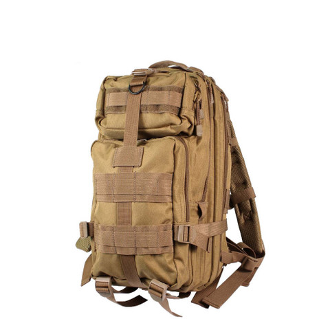 Coyote Brown Medium Transport Pack - Front View