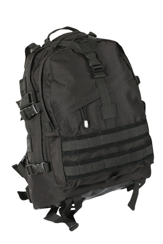 Black Large Transport Pack - Front View
