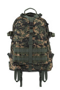 Woodland Digital Camo Large Transport Pack - Front View