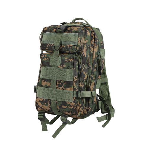 Woodland Digital Camo Medium Transport Pack - Front View