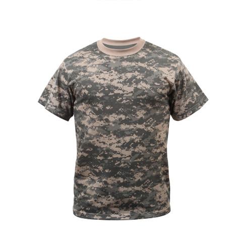 ACU Digital Camo T Shirt - Front View