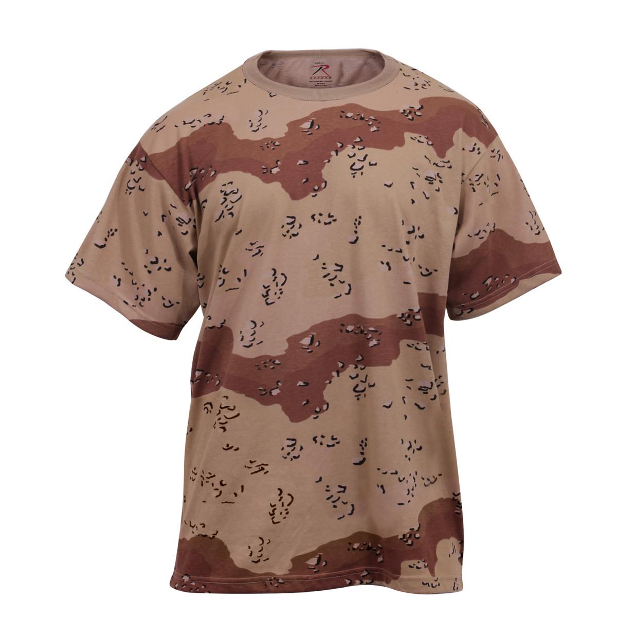 4d8ac37ed Shop Six Color Desert Camo T Shirt - Fatigues Army Navy Gear