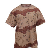6-Color Desert Camo T Shirt - View