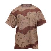 6-Color Desert Camo T Shirt - View