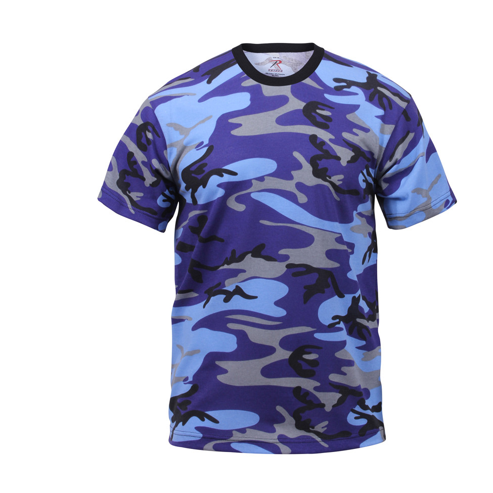 c6308c56 Shop Rothco Electric Blue Camo T Shirts - Fatigues Army Navy