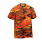 Savage Orange Camo T Shirt - Right Side View