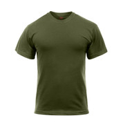 Olive Drab T Shirts - Poly/Cotton