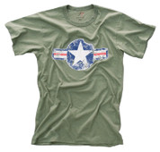 Vintage Army Air Corp T Shirt - View
