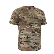 Multicam Camo T Shirt - Right Side View