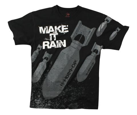 Vintage Make It Rain T Shirts - View