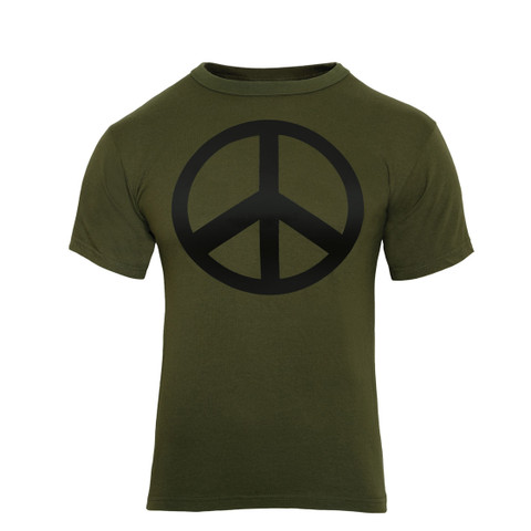 Peace Sign T Shirt -Front View
