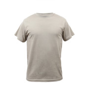 Desert Sand Cotton T Shirt - Front View