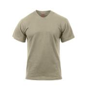 Desert Sand Moisture Wicking T Shirt - Front View