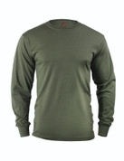 Olive Drab Long Sleeve T Shirt