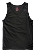 Black Tank Tops - View