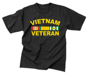 Vietnam Veteran T Shirt - View