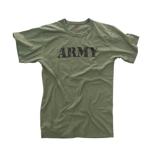 Vintage Army T Shirt - View