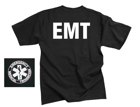 EMT Official Logo T Shirt - Combo View