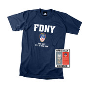 Officially Licensed FDNY T Shirt - View
