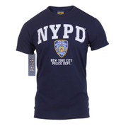 Officially Licensed NYPD T Shirt - Front View