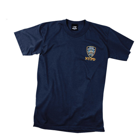 Officially Licensed NYPD Emblem T Shirt - View