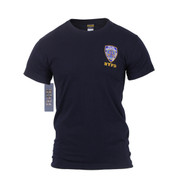 Officially Licensed NYPD Emblem T Shirt - Front View