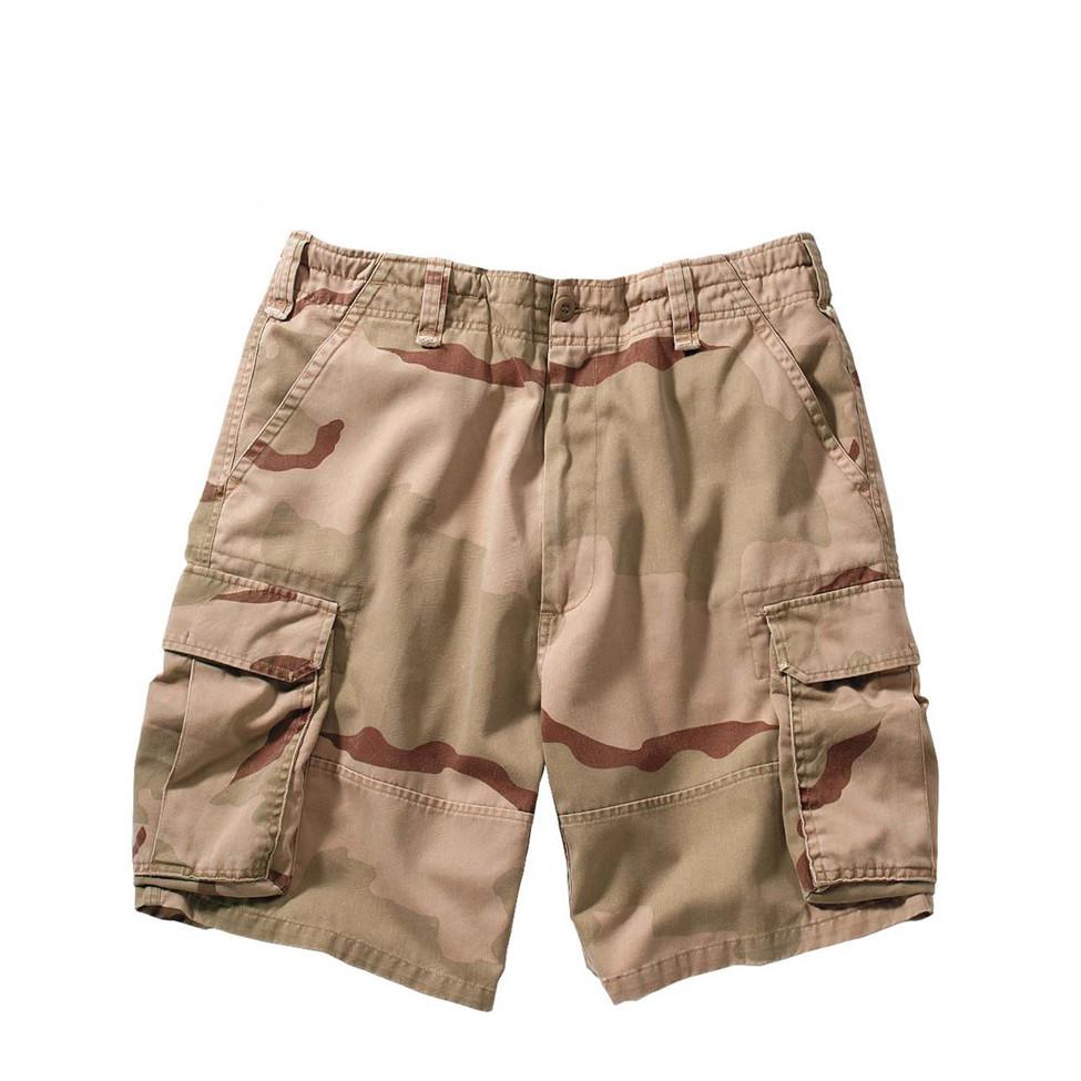 7625eb5edb Shop Vintage Desert Cargo Fatigue Military Shorts - Fatigues Army Navy Gear