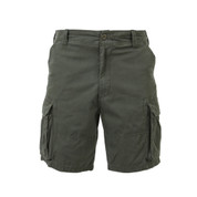 Vintage Cargo Fatigue Shorts - Front Full View