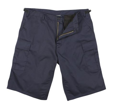 Rothco  Navy Blue Long Length BDU Shorts - View