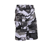 Urban Camo Long BDU Shorts - Right Side View