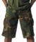 Woodland Camo Longer BDU Shorts - Model View