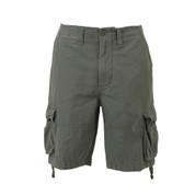 Vintage Olive Drab Infantry Utility Short - Front View