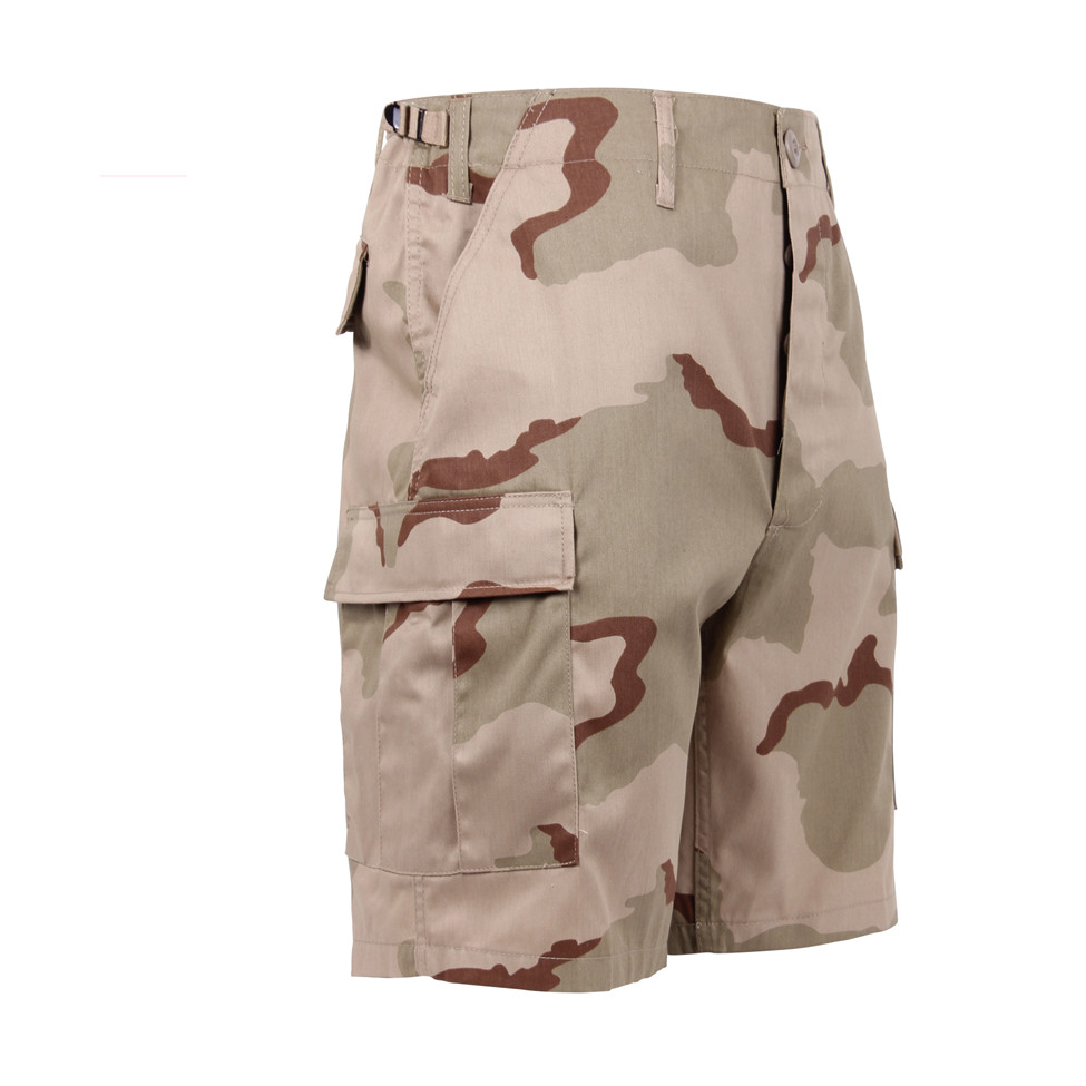 dd29cec4b4 Shop Tri Color Desert Camo Military Shorts - Fatigues Army Navy Gear