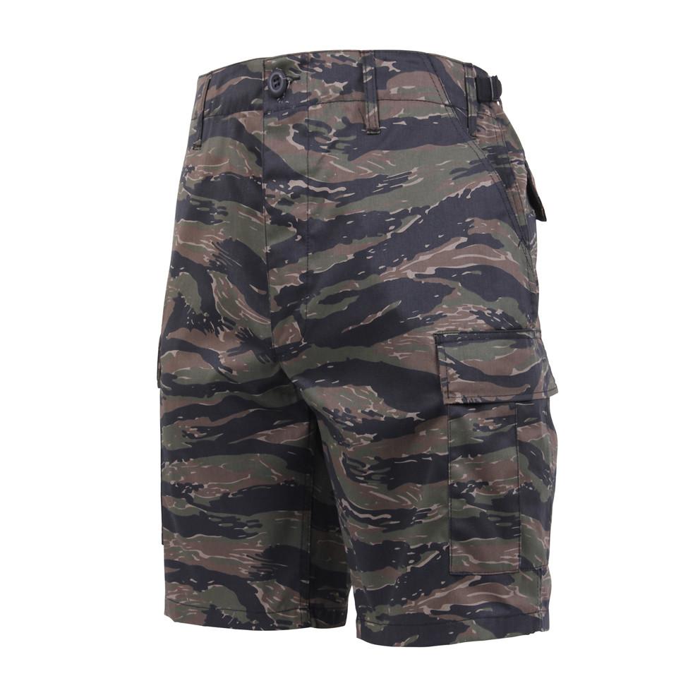 6229dd445f495 Shop Tiger Stripe Camo BDU Military Shorts - Fatigues Army Navy Gear