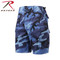 Rothco  Sky Blue Camo BDU Military Shorts