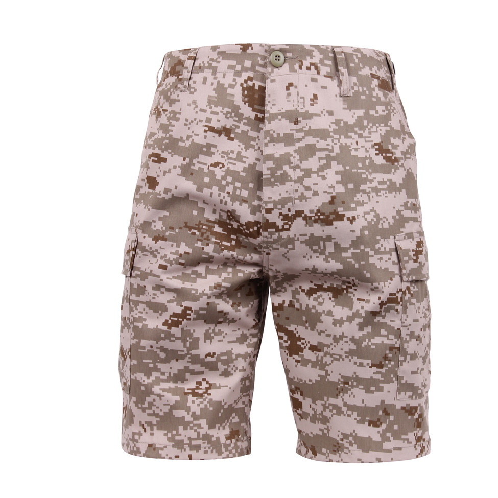 f8d9e4c46c Shop Desert Digital Camouflage BDU Military Shorts - Fatigues Army Navy Gear
