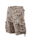 Vintage Desert Digital Camo Infantry Shorts - View