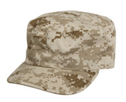 Desert Digital Camo Fatigue Cap
