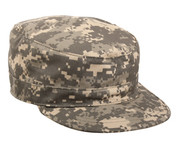 Adjustable ACU Digital Camo Fatigue Cap