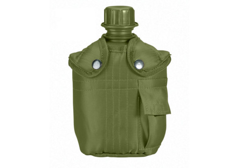 G.I. Plastic Canteen & Cover Combo - View