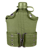 Plastic Canteen & Pistol Belt Combo Kit - View