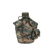 Woodland Digi Camo Canteen Cover - View