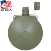 G.I. Plastic Round 2 Qt. Canteen - USA View