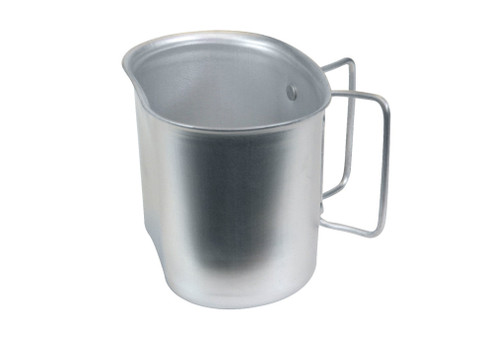 G.I. Style Aluminum Canteen Cup - View
