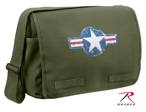 Classic Army Air Corps Messenger Bag - Rothco View