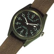 Olive Drab Quartz Field Watch